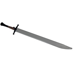 Complete Synthetic Langes Messer Sword, Silver Blade PR9062