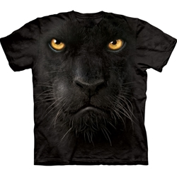 Black Panther Face Adult 3X-Large T-Shirt 43-1032460