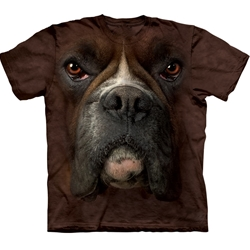 Boxer Face Adult 2X-Large T-Shirt 43-1032570