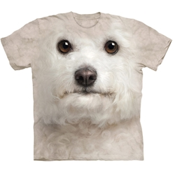 Bichon Frise Face Adult 2X-Large T-Shirt 43-1035190