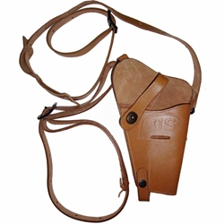 US M7 WWII Leather Shoulder Holster for M1911A1 .45 - Repro