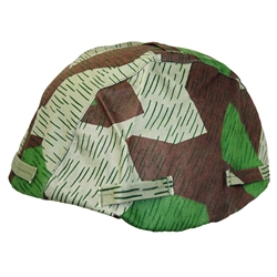 German Army - Luft Splinter Camo Helmet Cover WWII Repro