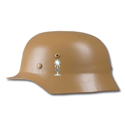 German M40 Afrika Korps Helmet WWII Reproduction