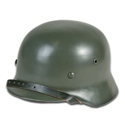 German WWII M35 Helmet Green Reproduction Two Sizes