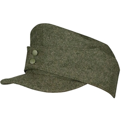 28950a69e89156 German Mountain Troops Wool Field Cap Enlisted - Bergmutze Cap