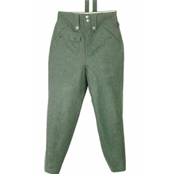 German WWII M43 Field Grey Wool Trousers