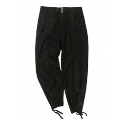 German WH Panzer Trousers - Black WWII