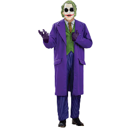 Batman Dark Knight The Joker Deluxe Plus Adult Costume 100-149825