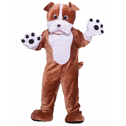 Bull Dog Deluxe Mascot Adult Costume 100-214478