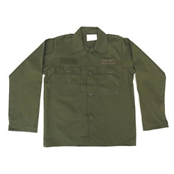 Kids Army Fatigue Shirt
